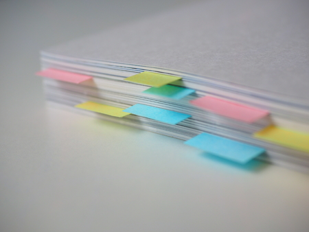 Book With Bookmarks