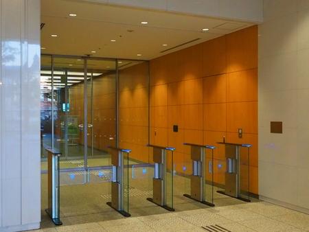 automatic security gates Banque d'images - 118482226