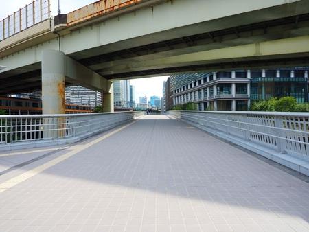 Kanda Tokyo,Japan: scenary of Ryukan Sakurabasi bridge