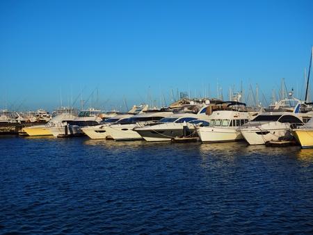 Yokohama Kanagawa,Japan: scenary of Yokohama bay side marina