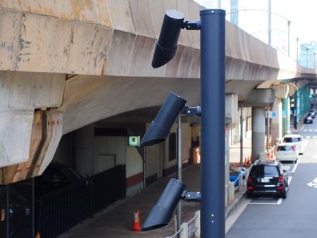 Security CCTV camera or surveillance system 写真素材