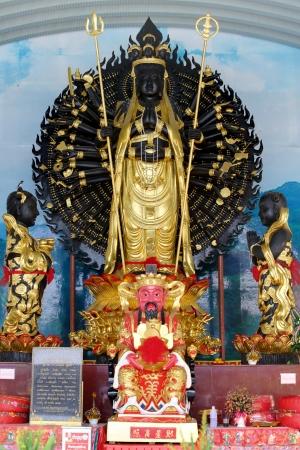 quan yin: Guan Yin or Quan Yin Statue with 1000 hands