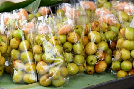 Thai jujube sales in Thai market photo