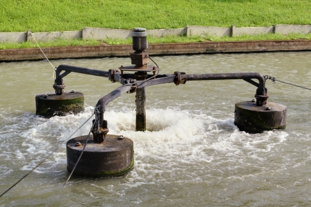 aerator: Water treatment by aerator