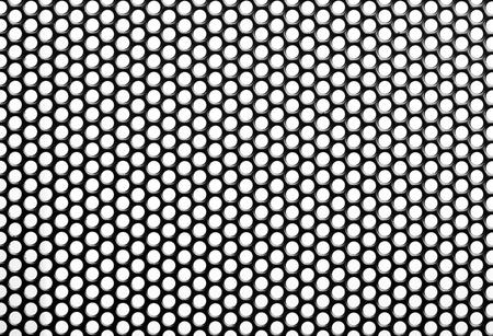 Close up Iron Perforated Sheet  photo