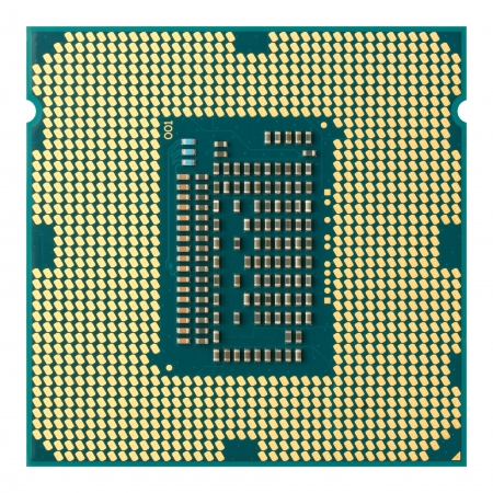 Close up CPU isolated on white Stock Photo - 16723687
