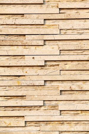 Yellow color stone wall texture Stock Photo - 16829355