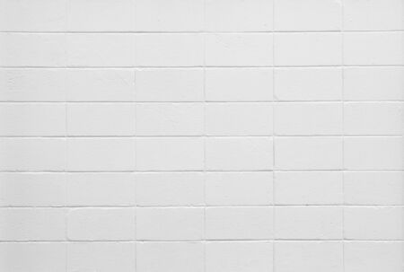 White color painted brick wall Stock Photo - 16829348