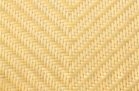 beautiful Yellow Rattan chair texture  photo