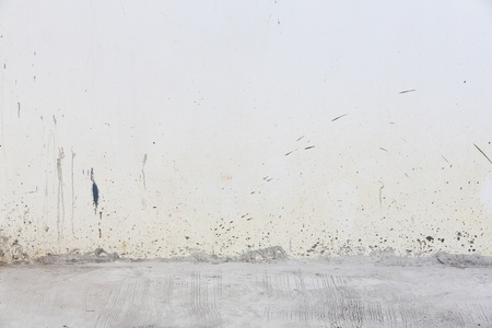 Dirty concrete wall and floor  Stock Photo - 17096107