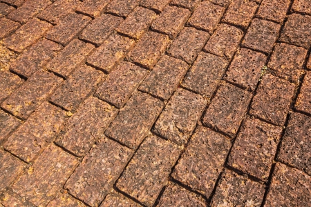Laterite floor at Thai ancient temple Stock Photo - 17304897