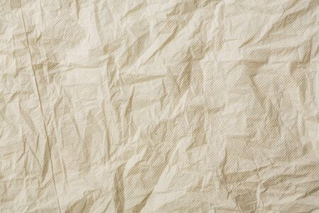 Crumpled grey color tissue paper photo
