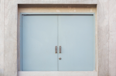 fireproof: Fireproof or fire resistance door for security Stock Photo