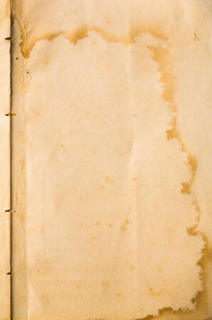Old grunge and weathered blank note paper texture Stock Photo - 17568382