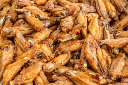 Thai style deep fried chicken wings Stock Photo - 17921567