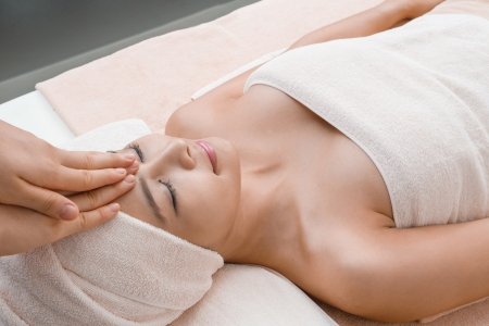 tea towel: Stress relaxation massage in Thai spa