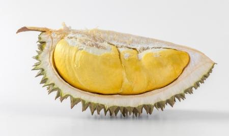 Durian: Phần sầu riêng Thái Lan bị cô lập trên nền trắng