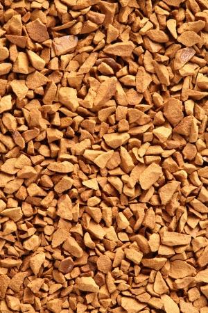 freeze dried: Close up de color caf? liofilizado de oro