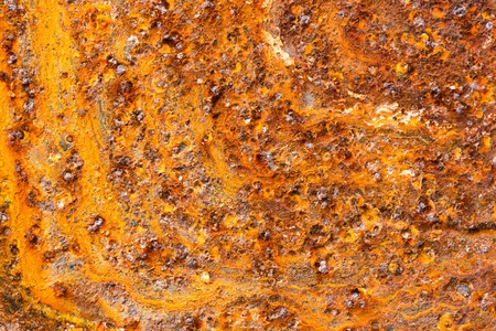 Close up orange color rusty steel texture background Stock Photo - 20730494