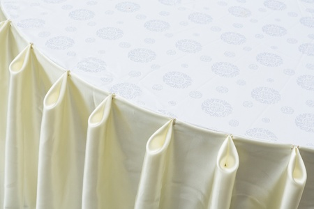 Close up table decoration for banquet in restaurant Stock Photo - 21372768
