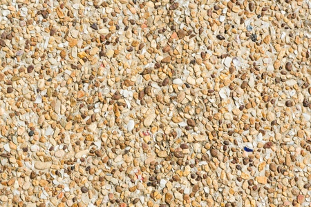 Close up rough gravel floor texture photo