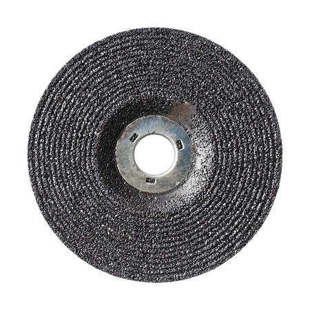 4 wheel: Close up de 4 ruedas pulgadas molienda aislado en blanco
