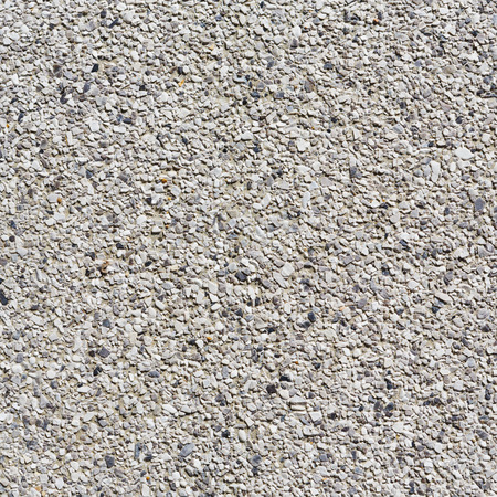 Close up gray color rough gravel floor photo
