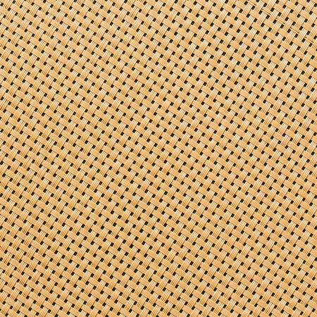 Close up rattan or wicker weave texture photo