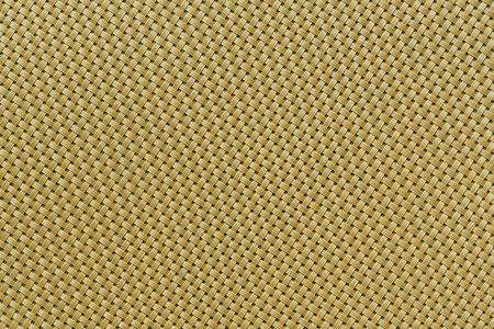 Close up green color rattan or wicker weave texture photo