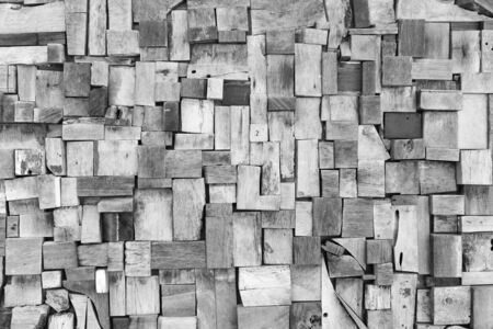���wall tiles���: Black and white color dirty old wooden wall tiles texture