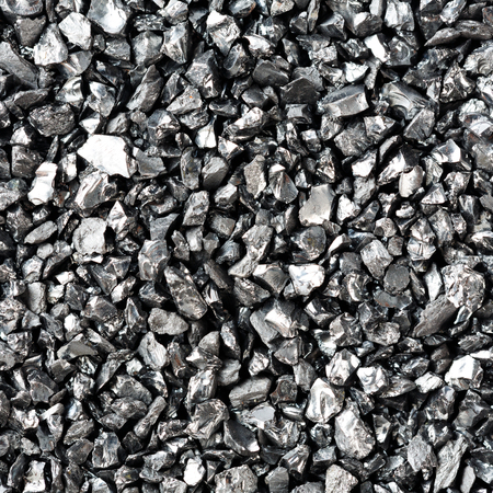 Crushed anthracite filtration media for water purification system