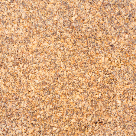Close up old and dirty brown color corkboard texture photo