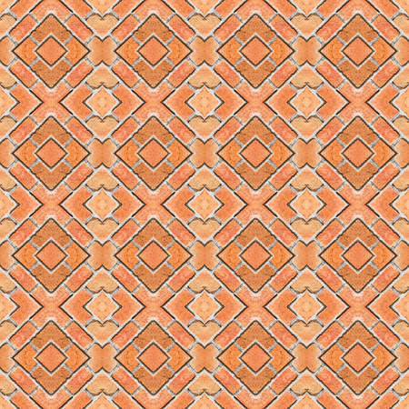 bstract: bstract red brick wall pattern background, abstract, wallpaper Stock Photo