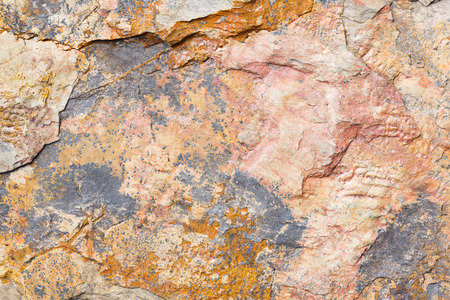 rock wall: Close up old and dirty rock or stone texture, nature background