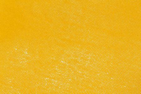 Close up yellow color off set printing paper texture Standard-Bild