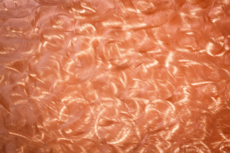 milled: Abstract milled finish copper sheet surface texture
