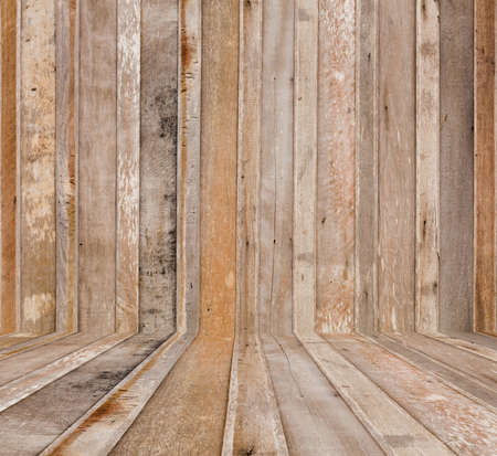 lumber room: Old and weathered wooden wall and floor texture background