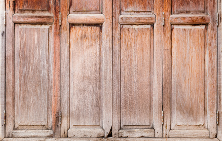 windows and doors: Close up old and weathered wooden windows or doors texture