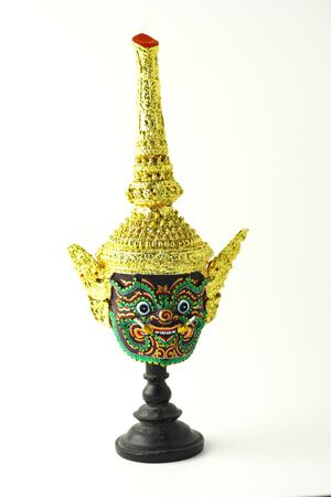 Head of Khon, Royal performance of Thailand photo