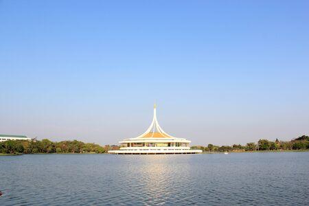 Public park, Suanluang Rama 9, Thailand photo