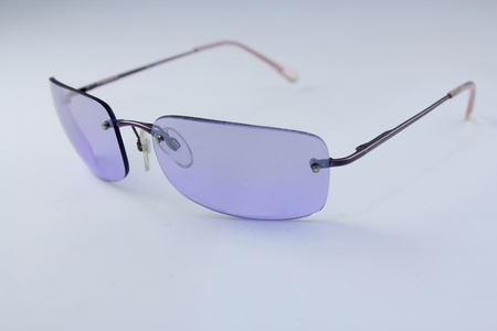 Isolated blue Glasses