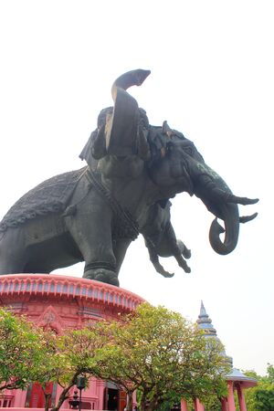 Erawan Monument photo