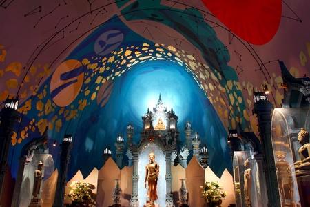 venerate: The Erawan Museum, Samut Prakan  near Bangkok , Thailand Editorial