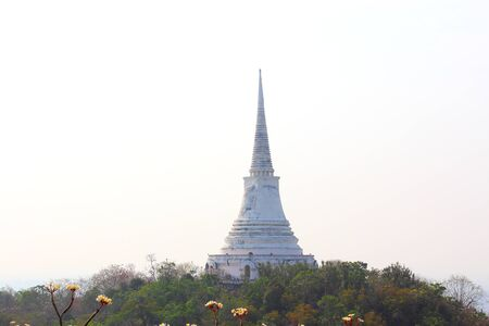 king palace: View from Khao Wang, Old King Palace in Petchburi, Thailand