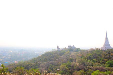 huahin: View from Khao Wang, Old King Palace in Petchburi, Thailand