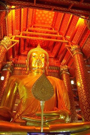image of Buddha,ayutthaya thailand photo