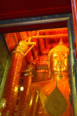 image of Buddha,ayutthaya thailand photo