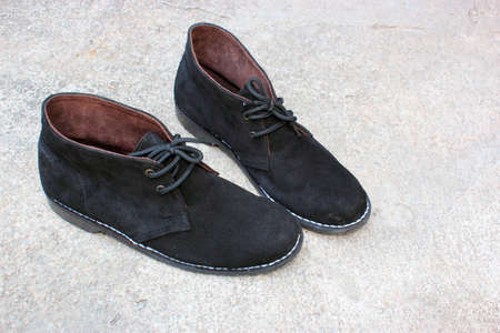 Suede Shoes Stock Photo - 13304832