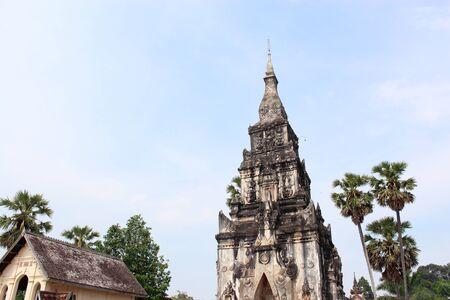 ing: Ing Hang Stupa in Savannakhet, Laos