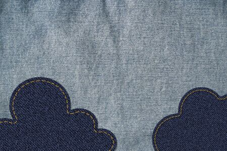 cloud on jean Stock Photo - 13362293